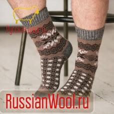 "Носки шерстяные мужские ""Зима"""