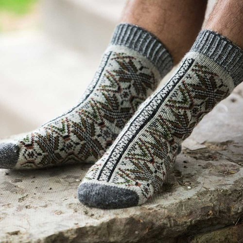 Мужские носки шерстяные Олива