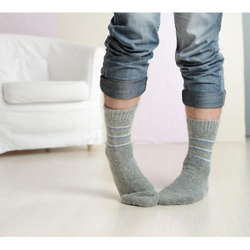 Носки шерстяные мужские боцман