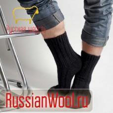 Носки шерстяные мужские Черные