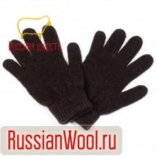 Перчатки женские шерстяные черные
