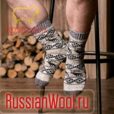 Мужские шерстяные носки Скандинавия-1