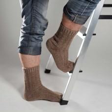 Мужские шерстяные носки Сепия