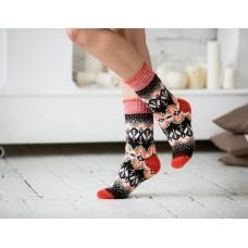 Носки шерстяные женские жар-птица