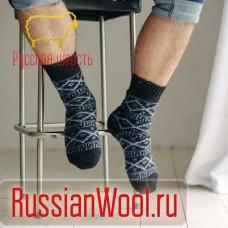 Мужские носки шерстяные Викинг