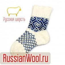Носки шерстяные женские без резинки